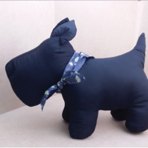 Westie Softy Toy - BLACK