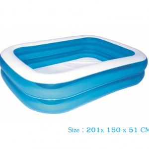 Sale!!! Bestway สระน้ำเป่าลม สำหรับครอบครัว 201x150x51 ซม.