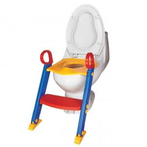 ฝารองชักโครก มีบันได ให้น้องๆ ฝึกการขับถ่ายในห้องน้ำด้วยตนเอง