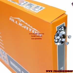"""ALLIGATOR"" สายในเบลคสแตนเลส Slick Stainless 1.5 MM*1700MM (กล่องละ 100 เส้น) ราคายกกล่อง"