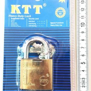กุญแจทอง KTT ขนาด 40 mm. คอสั้น