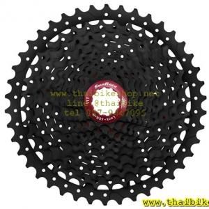 เฟือง SUNRACE รุ่น CSMX8 black/red 11 SPD ขนาด 11-42