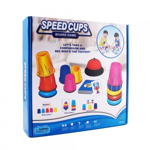 [Board Game] Speed cup Game เกมพัฒนา I.Q.