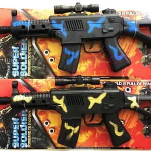 ปืน M16 ลายพราง มีเสียงแผงจัมโบ้ 52 ซม. (1x6)