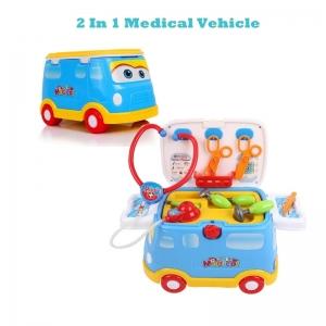 2 In 1 Medical Vehicle รถขาไถ พร้อมอุปกรณ์คุณหมอ