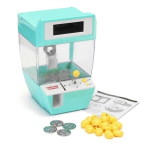Mini Catcher & Alarm Clock ตู้คีบตุ๊กตา ตู้คีบขนม ตั้งนาฬิากาปลุกได้