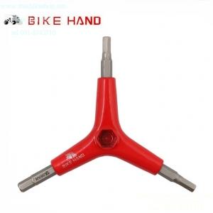 เครื่องมือหกเหลี่ยม สามทาง BIKE HAND YC-356YA