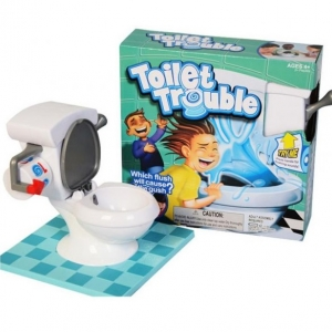 Toilet Trouble Game แข่งกันใครดวงดี