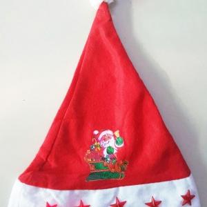 หมวกคริสมาสมีไฟ+มีเสียง 37ซม.