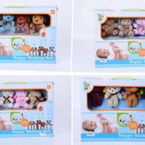 โมบายตุ๊กตาผ้า สำหรับเด็กทารกแรกเกิด มีเสียงเพลง