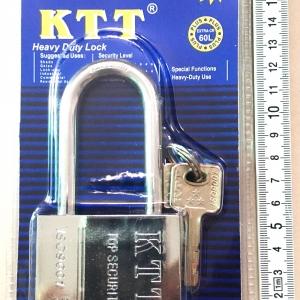 กุญแจสแตนเลส KTT ขนาด 60 mm. คอยาว