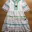 Lady Florence Hippie Chic Floral Embroidered Layered Dress thumbnail 12