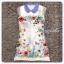 Dress สีขาวพร้อมกับลายสกรีนกราฟฟิคสุดคลู thumbnail 4