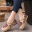 รองเท้าผ้าทอลายกราฟฟิคเก๋ ๆ นนิ่มมาก และทนมากเพราะส้นทำจากยางพารา thumbnail 3
