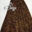 (ส่งฟรี EMS) Sevy Hi-End Leopard V-Neck Open Leg Maxi Dress thumbnail 7