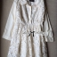 Lady Ribbon's Made Lady Poppy Sweet Delicate Embroidered Organza Shirt Dress thumbnail 4
