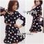 Lady Taylor Polka Dot Crop Jacket and Pleated Skirt Set thumbnail 3