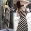 Sevy Arrow Stripes Maxi Dress thumbnail 5