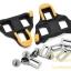 คลิ๊ปติดพื้นรองเท้า Cleat Sets บันใดเสือหมอบ รุ่น SM-SH11, สีเหลือง. thumbnail 2