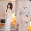 Cliona Made,Ladies Chinese Modern Lace Dress thumbnail 2