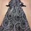 Cliona made' Lucy Charming Grey Summer Beach Long Dress thumbnail 16
