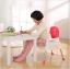 เก้าอี้ทรงสูงสำหรับเด็ก ปรับระดับได้ พร้อมส่ง ฟ้า ชมพู เขียวคะ thumbnail 5