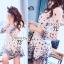 Sophia Black Rose Mini Dress thumbnail 2
