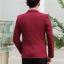 พร้อมส่ง เสื้อสูท ผู้ชาย สีแดง แขนยาว กระดุมหน้าหนึ่งเม็ด แต่งขอบกระเป๋าอก เสื้อเข้ารูป thumbnail 3