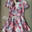 Lady Ribbon's Made Lady Tabitha Sweet Floral Effect Mini Dress thumbnail 4