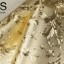 วอลเปเปอร์ลายใบไม้พื้นสีทองอ่อน LTD-J67 thumbnail 3