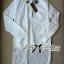 Lady Ribbon's Made Lady Chloe Insert Lace Embellished White Shirt Dress thumbnail 11