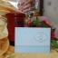 K16 การ์ดแต่งงานสองพับ สีชมพู,ครีม,ฟ้า thumbnail 1
