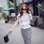 Cliona made' Korean Summer Shirt + Beeline Skirt Set thumbnail 7