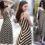 Sevy Arrow Stripes Maxi Dress thumbnail 2