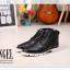 รองเท้าแฟชั่นผู้ชาย พรีออร์เดอร์ รองเท้าหนัง สีดำ ผูกเชือก ใส่เที่ยว ใส่ทำงาน thumbnail 7