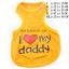 เสื้อกล้ามสุนัข รักพ่อ สีส้ม (พร้อมส่ง) thumbnail 1