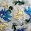 Lady Ribbon's Made Lady Hannah Sweet Feminine Satin and Flower Embroidered Organza Mini Dress thumbnail 10