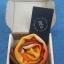 C001 กล่องลูกฟูก ขนาด 12 x 12 x 4.5 cm. ( 10 ใบ ) thumbnail 1