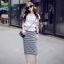 Cliona made' Korean Summer Shirt + Beeline Skirt Set thumbnail 1