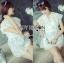 Lady Ribbon's Made Abigail Pretty and Sexy White Lace Mini Dress thumbnail 9