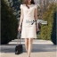 Lady Ribbon's Made Lady Lara High Classy See-Through Lace Dress in White thumbnail 5