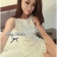Lady Ribbon's Made Lady Lolita Sweet Sexy White V-back Lace Dress thumbnail 2