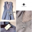 Lady Clair, Two-tone Sleeveless Mini dress thumbnail 5