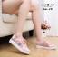 รองเท้าผ้าใบแฟชั่นสไตลฺวินเทรด แต่งระบายลูกไม้สวยหวานน่ารักมาก thumbnail 3