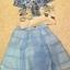 Set Pastel Blue Domicile Blouse with Organza Skirt by Seoul Secret thumbnail 4