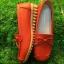 รองเท้าคัทชูเพื่อสุขภาพหนังนิ่มแต่งโบว์ด้านหน้า thumbnail 1