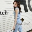 Seoul Secret Say's... Layla PlaySuits Denim Lace thumbnail 5