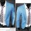 พร้อมส่ง เสื้อสูทผู้ชาย เสื้อสูทลำลอง สีฟ้า คอปก กระดุมเม็ดเดียว แขนยาว thumbnail 3