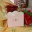 A190 การ์ดแต่งงาน 3 พับ สีชมพู thumbnail 3