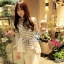So Cute Stripy T- Shirt by Seoul Secret thumbnail 1